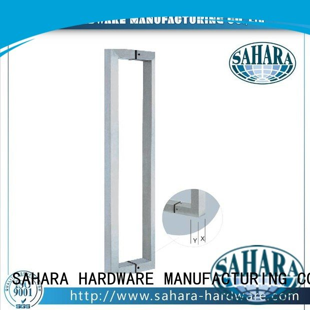 SSS handles for glass doors Stain GAC SAHARA Glass HARDWARE