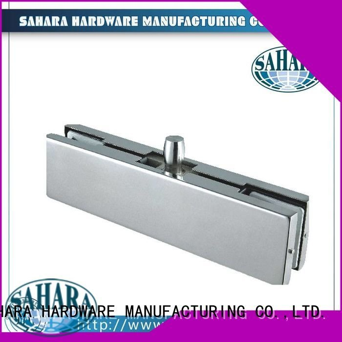 Stainless steel cover for door hydraulic SAHARA Glass HARDWARE patch fitting glass door