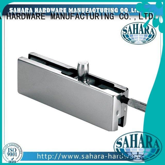 patch fitting glass door Aluminium body patch SAHARA Glass HARDWARE Brand