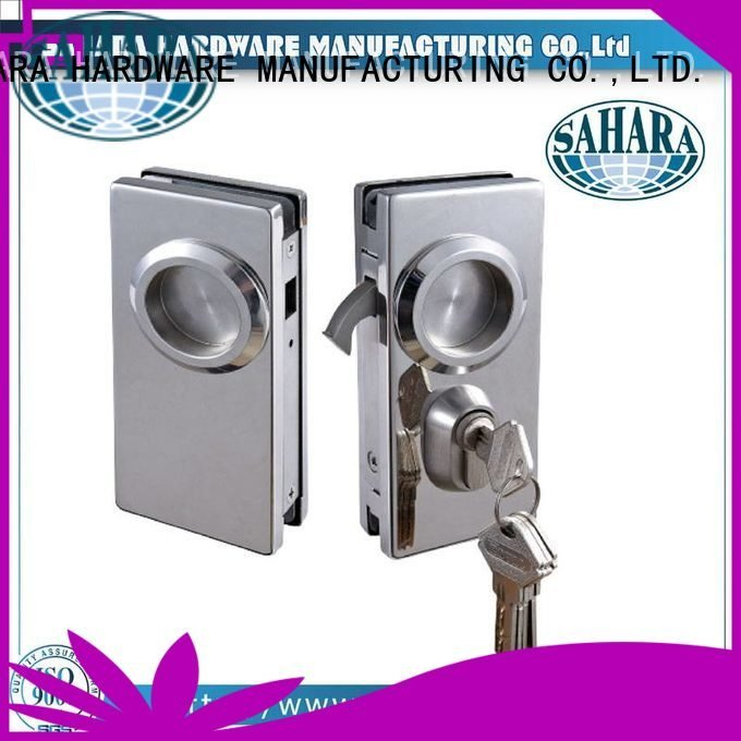 lockft52 lockft52b lockft56 locksh56b SAHARA Glass HARDWARE bathroom glass door lock
