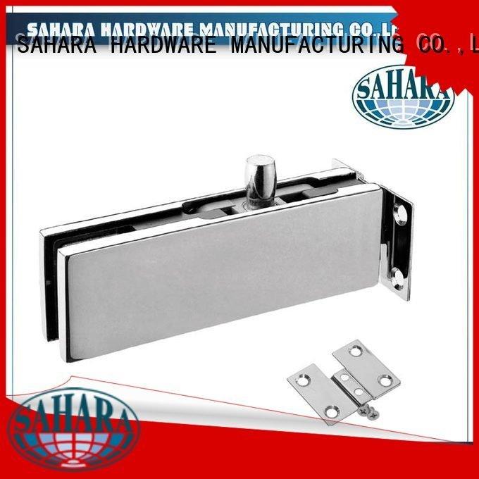 fittings Aluminium body patch fitting glass door SAHARA Glass HARDWARE