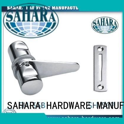 sliding cylinders OEM bathroom glass door lock SAHARA Glass HARDWARE