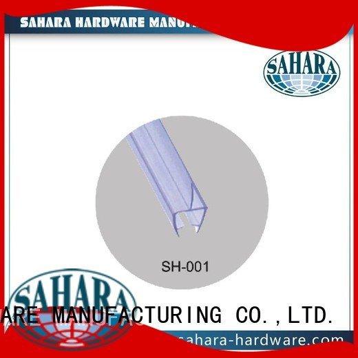 pvc shower seal strip Brass shower door seal strip GAC SAHARA Glass HARDWARE