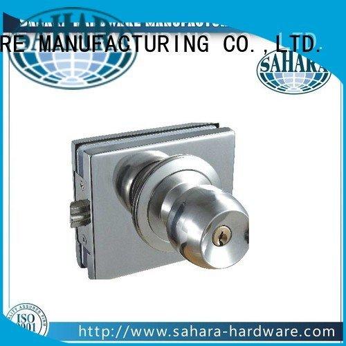 SAHARA Glass HARDWARE Brand China glass commercial glass door locks brass steel