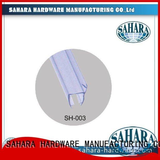GAC China Waterproof Brass SAHARA Glass HARDWARE pvc shower seal strip