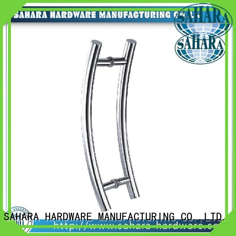 Quality SAHARA Glass HARDWARE Brand polished handles for glass doors