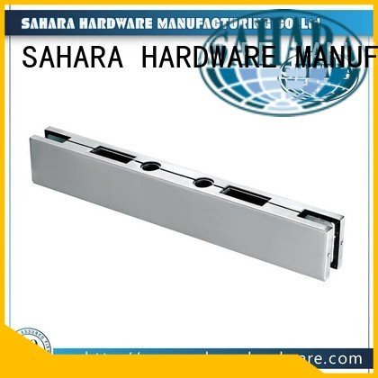 ROYMA patch patch fitting glass door SAHARA Glass HARDWARE
