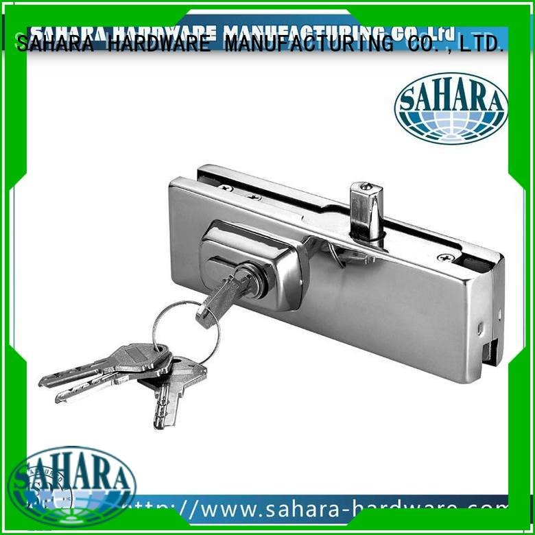SAHARA Glass HARDWARE glass Aluminium body SAHARA patch fitting glass door fittings