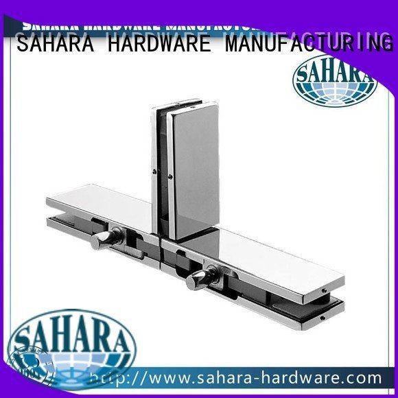 Stainless steel cover Aluminium body glass patch fitting glass door SAHARA Glass HARDWARE