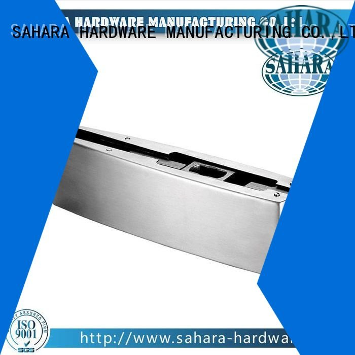 SAHARA Glass HARDWARE Brand hydraulic Stainless steel cover GAC patch fitting glass door