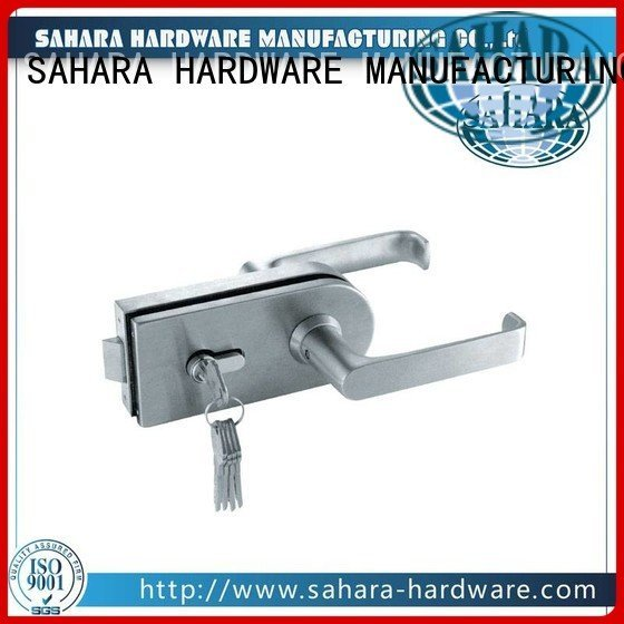 cylinders bathroom glass door lock SAHARA Glass HARDWARE commercial glass door locks