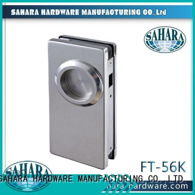 lockft71 aluminum bathroom glass door lock lockft58k SAHARA Glass HARDWARE