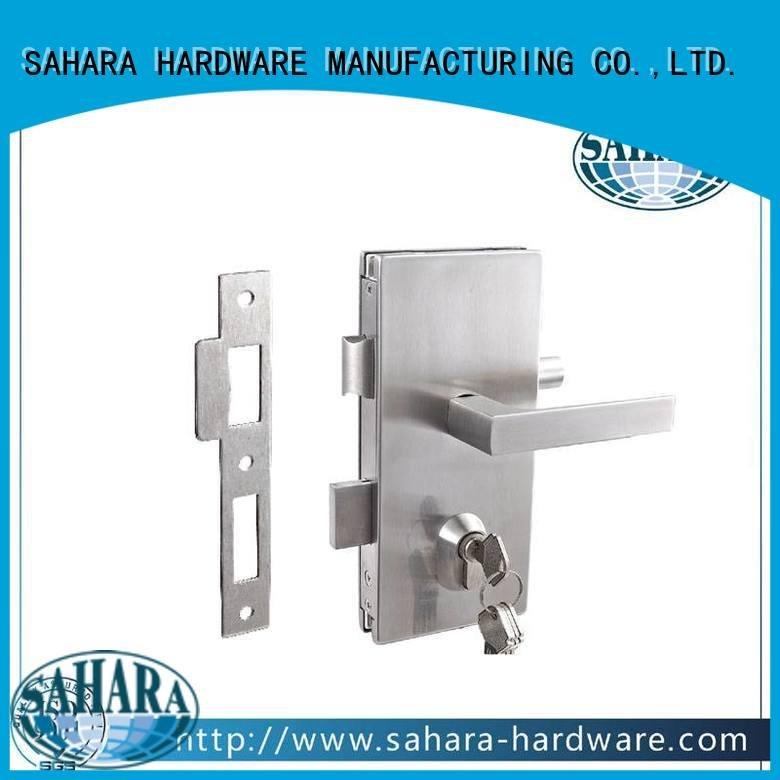 SAHARA Glass HARDWARE commercial glass door locks glass SAHARA door GAC