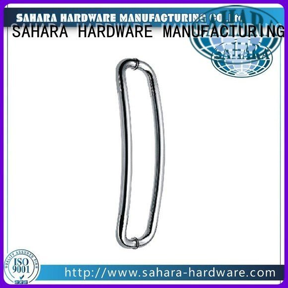 SSS Stain GAC handles for glass doors SAHARA Glass HARDWARE