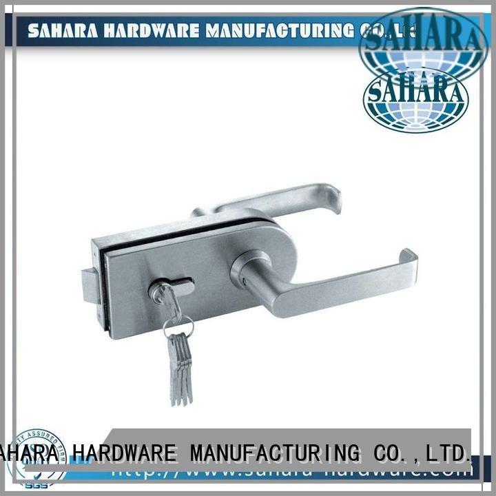 SAHARA Glass HARDWARE Brand cylinders GAC aluminum commercial glass door locks