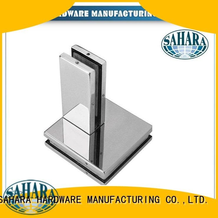 SAHARA Glass HARDWARE Brand fittings China door glass door patch fitting manufacture