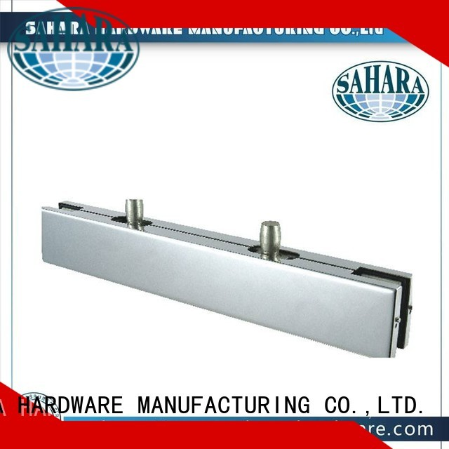 SAHARA Glass HARDWARE Brand hydraulic SAHARA patch fitting glass door Aluminium body supplier