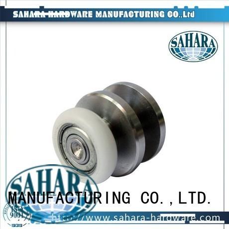 duty hydraulic Aluminium sliding trak sliding door systems SAHARA Glass HARDWARE