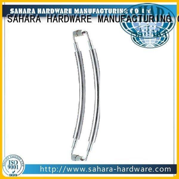 SAHARA Glass HARDWARE glass handles for doors SAHARA steel ROYMA SSS