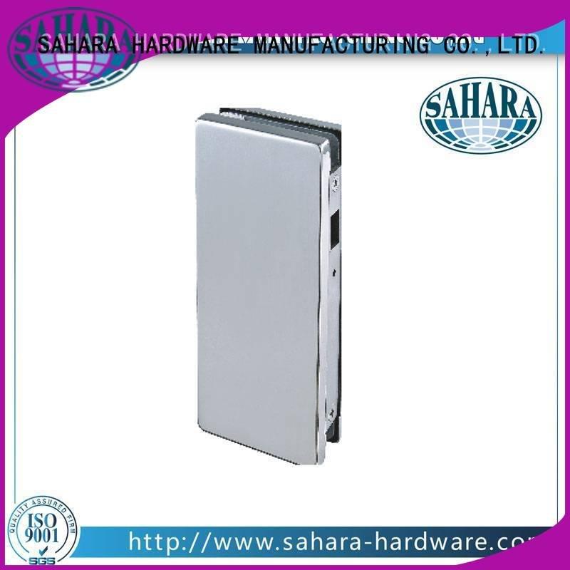SAHARA Glass HARDWARE brass bathroom glass door lock sliding door