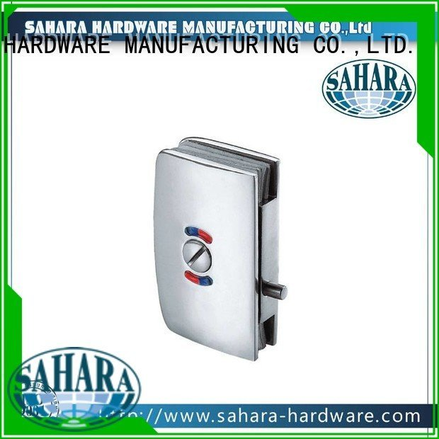 aluminum GAC steel SAHARA Glass HARDWARE commercial glass door locks