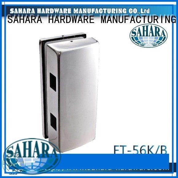 ROYMA Aluminium sliding trak SAHARA door SAHARA Glass HARDWARE bathroom glass door lock