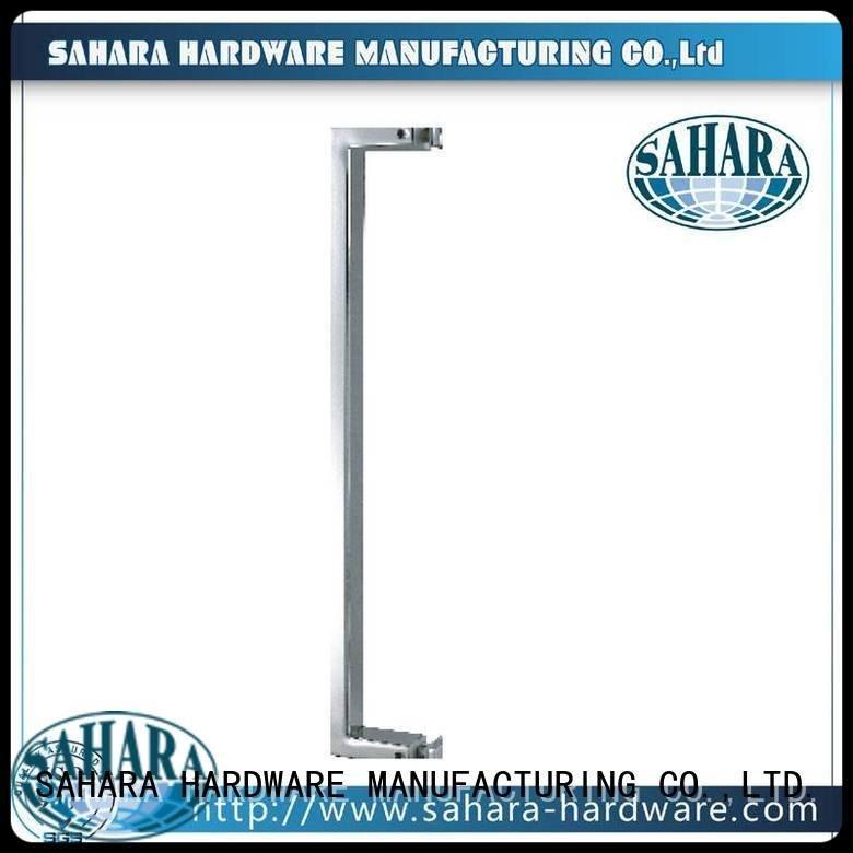 glass handles for doors PSS SAHARA SSS stainless SAHARA Glass HARDWARE