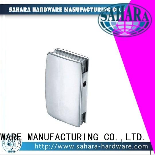 Quality SAHARA Glass HARDWARE Brand sliding bathroom glass door lock sliding glass door aluminum