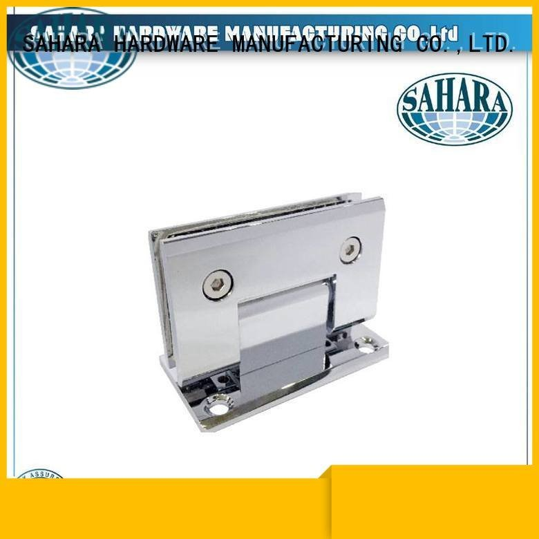 glass door hinges ROYMA glass door hinges SAHARA Glass HARDWARE Brand