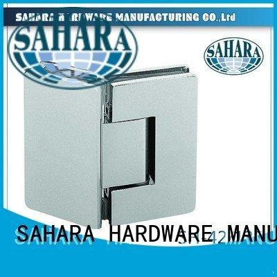 SAHARA Glass HARDWARE Steel door Stainless glass door hinges Brass