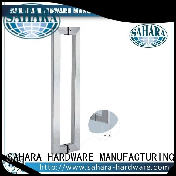 Wholesale Stain glass handles for doors SAHARA Glass HARDWARE Brand