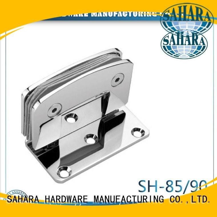 SAHARA Glass HARDWARE Brand GAC glass door hinges Steel frameless