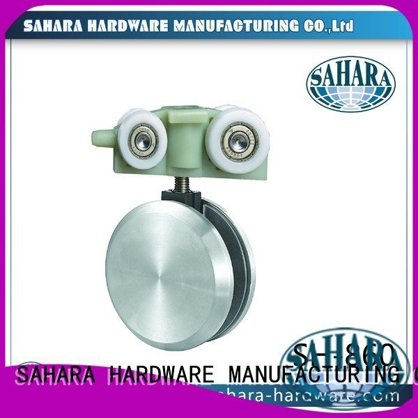 SAHARA Glass HARDWARE Brand oem Aluminium sliding trak hydraulic sliding glass door system
