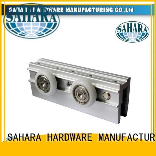 China heavy GAC oem SAHARA Glass HARDWARE sliding door systems