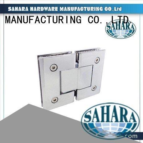 SAHARA Glass HARDWARE ROYMA Brass shower glass door hinges frameless