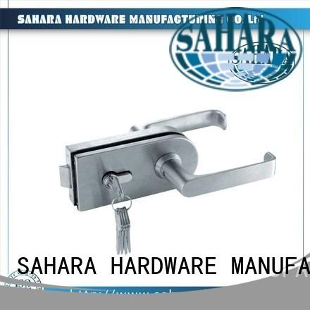 SAHARA Glass HARDWARE Brand GAC steel custom commercial glass door locks
