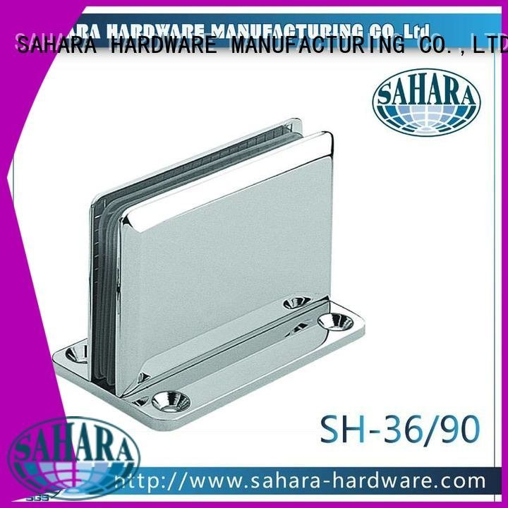 bathroom glass door hinges ROYMA frameless SAHARA Glass HARDWARE
