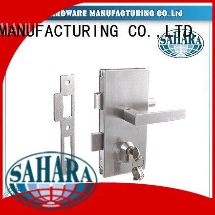 commercial glass door locks cylinders SAHARA Glass HARDWARE Brand bathroom glass door lock