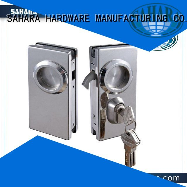 Professional Aluminum Sliding Glass Door Lock Ft 56 Supplier