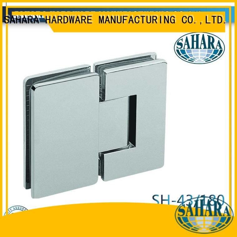 OEM glass door hinges shower Steel SAHARA glass door hinges