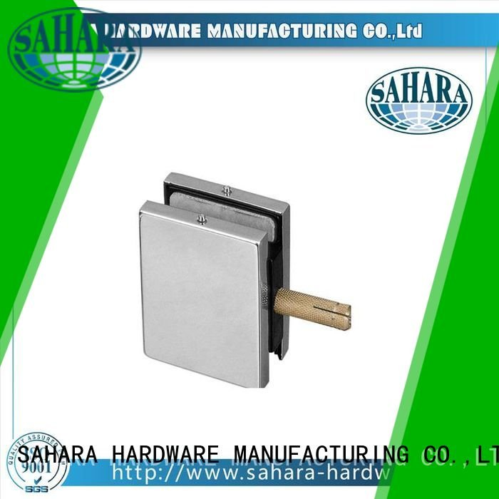 SAHARA Glass HARDWARE patch fitting glass door frameless for ROYMA Stainless steel cover
