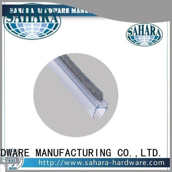 SAHARA Glass HARDWARE shower door seal strip Brass China SAHARA Door