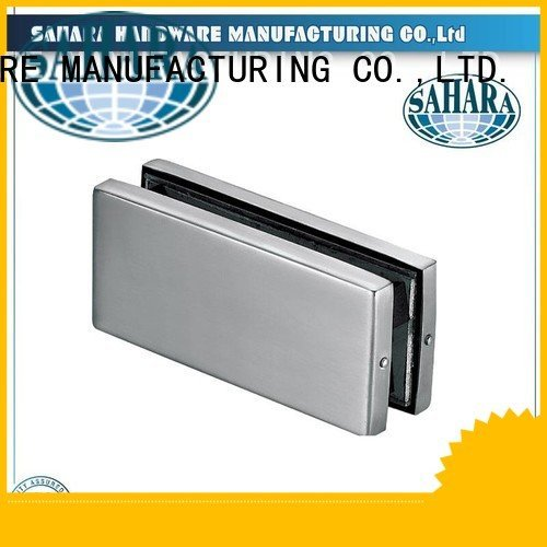 patch fitting glass door ROYMA frameless OEM glass door patch fitting SAHARA Glass HARDWARE