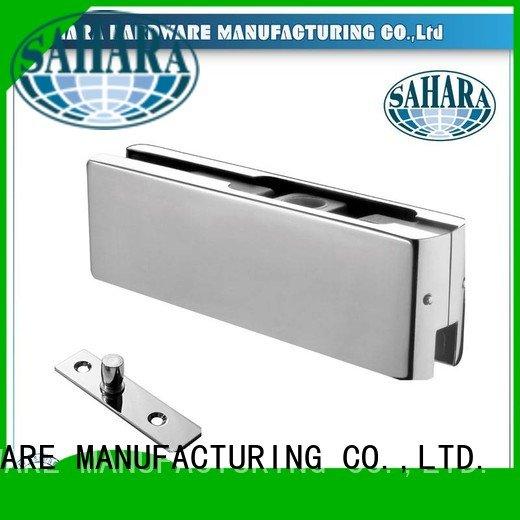 patch fitting glass door Aluminium body SAHARA GAC SAHARA Glass HARDWARE